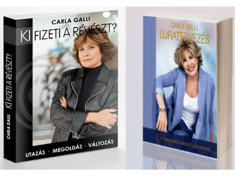 Carla Galli megjelent könyvei